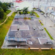 Скейт парк FK-ramps в Магадане