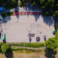 Скейт парк FK-ramps в Сыктывкаре
