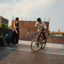 Скейт парк в Покровске (Республика Саха)