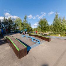 Скейтпарк в Агалатово (Ленобласть)