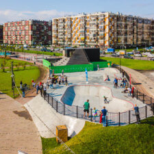 Учебный скейт парк в Кудрово