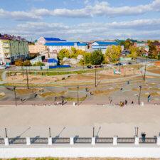Асфальтовый памп трек в Оренбурге