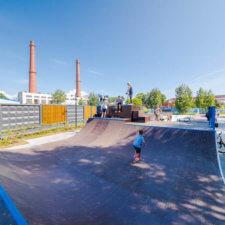 Скейтпарк Остров Фортов Кронштадт